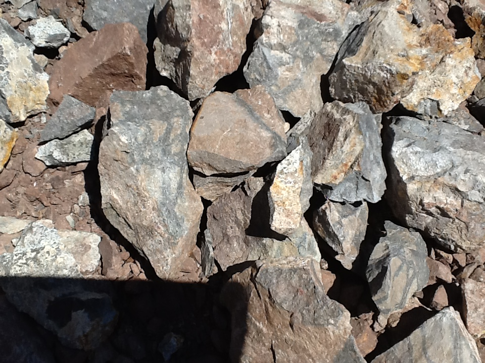 Rocks At The Mine