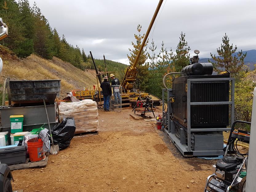 Drilling Program at Bridging The Gap